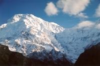 View of the Annapurnas, Nepal