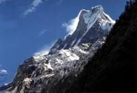 View of Machhapuchhare, Annapurna, Nepal