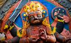 Satue of Shiva, Durbar Square, Kathmandu, Nepal