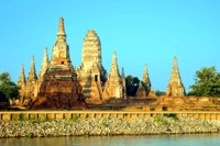 Ayutthaya, the ancient capital of Thailand