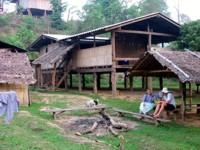 Hilltribe village, Thailand