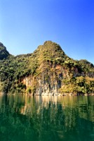 Limestone cliffs of Khao Sok National Park, Thailand