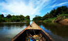 Cruising down the Mekong Delta, Laos