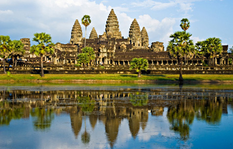 Temple of Angkor Wat, Siem Reap, Cambodia
