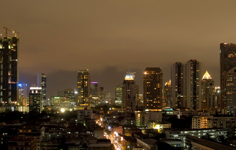 Bangkok by night, Thailand
