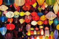 Asian lanterns, Hoi An, Vietnam