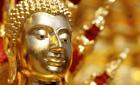 Buddha statue in Doi Suthep temple, Chiang Mai, Thailand