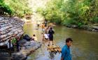 Bamboo rafting, Chiang Mai, Thailand