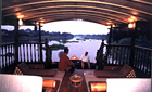Evening on board the Rice barge, Chao Phraya River, Thailand