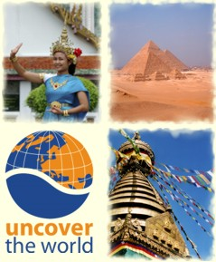 Uncover the World website