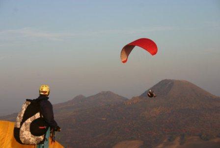 paragliden in Tsjechië