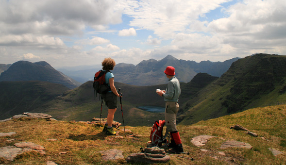 North-West Frontiers Admiring the few in the Torridon hills