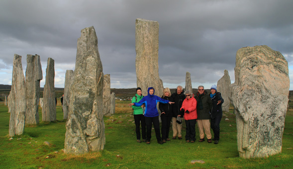 North-West Frontiers The standing stones at Callanish, Lewis