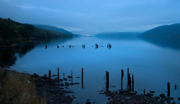 North-West Frontiers Loch Ness at dusk