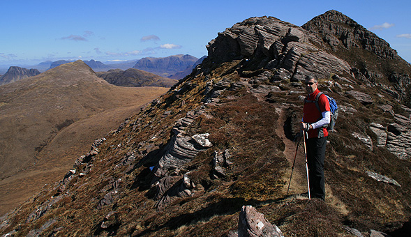 North-West Frontiers High on the ridge of Ben Mor Coigach