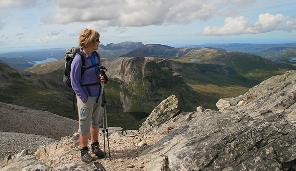 North-West Frontiers Enjoying the view on Ben More Assynt