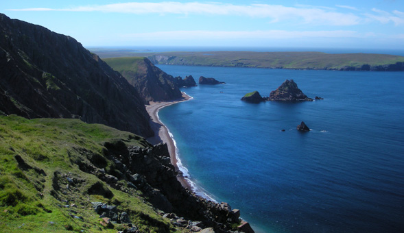 North-West Frontiers Dramatic coastal walking in Shetland