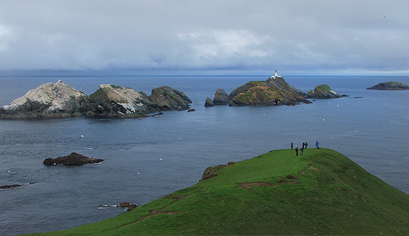 North-West Frontiers Muckle Flugga and the far north of Shetland