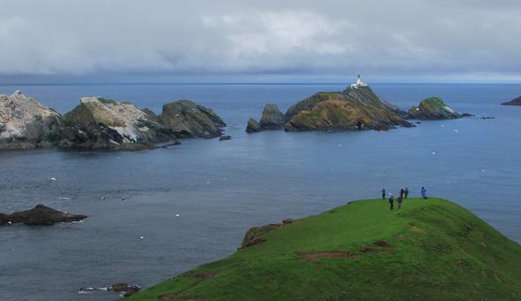 North-West Frontiers Shetland coastline