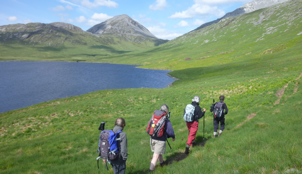 North-West Frontiers Heading into the hills, Jura