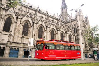 The Original Quito City Tour in Trolley with Hotel Pick-up
