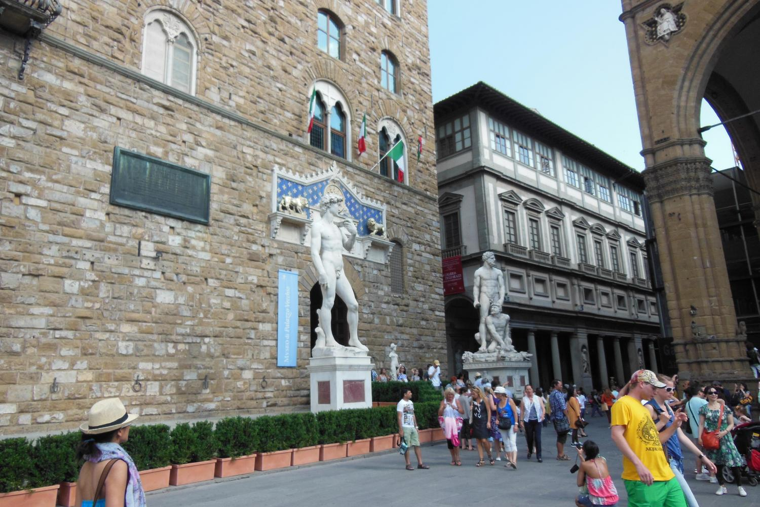 Italian Florence: Florence Wonders Walking Tour With Uffizi And Accademia