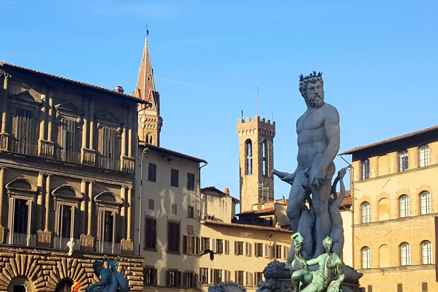 Italian Florence: Florence Wonders Walking Tour With Accademia AM And Uffizi