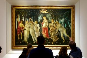 Guided Visit to the Uffizi Gallery with Skip the Line Admission