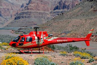 Grand Canyon West Rim by Luxury Limo Van w/Helicopter, Pontoon, and Skywalk Tickets