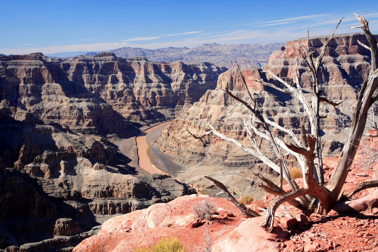 Grand Canyon West Rim Tour With Helicopter Boat