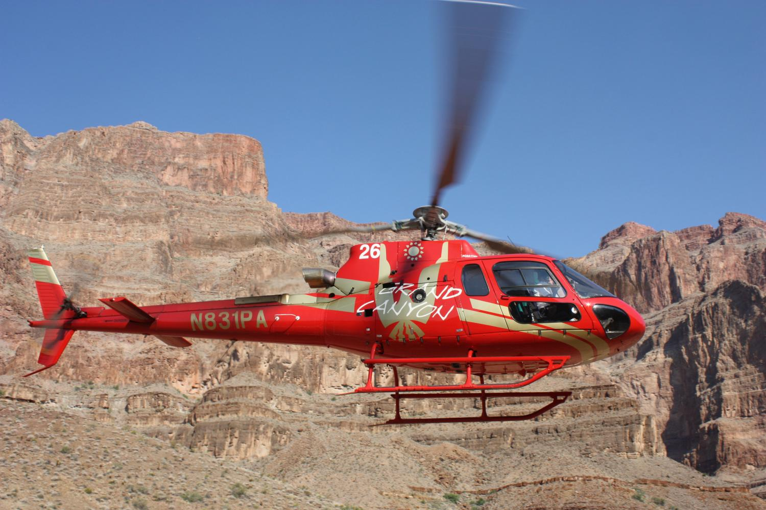 Grand Canyon West Rim Helicopter Boat And Skywalk