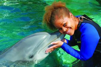 Miami Seaquarium - Swim with Dolphins