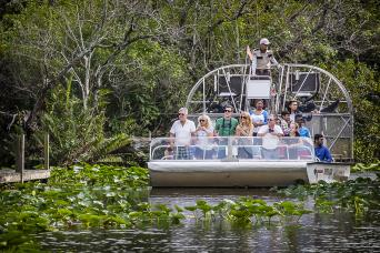 Everglades Airboat Adventure Tour with Transportation AM
