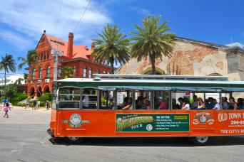 Key West Day Trip & Hop-On, Hop-Off Trolley