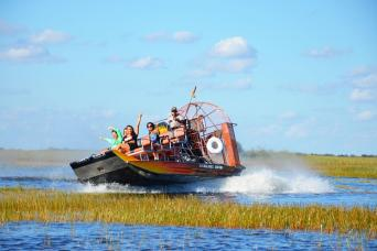 Miami City Tour & Everglades Airboat Adventure