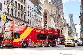New York City Hop-On, Hop-Off Tours: All Around Town Double Decker Tour - 72 Hours