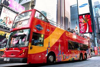New York City Hop-On, Hop-Off Tours: All Around Town Double Decker Tour - 48 Hours