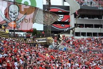 Tampa Bay Buccaneers- TICKET ONLY (Upper Level Seating)