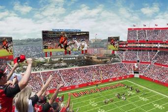 Tampa Bay Buccaneers with Transport (Lower Level)