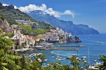 Amalfi Coast and Positano Day Trip by High Speed Train from Rome