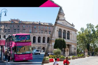 Combo Hop On Hop Off 24-hour Ticket and Guided Walking Tour of Jewish Ghetto