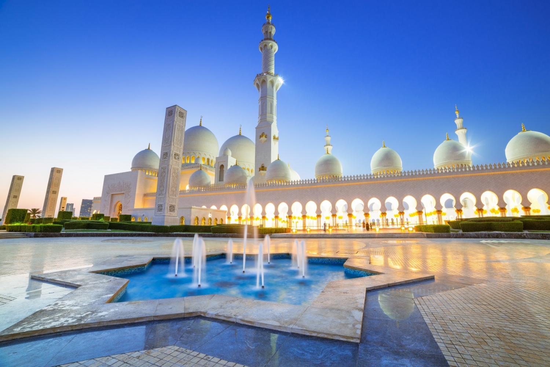Abu Dhabi Mosque Warner Bros Tour From Dubai