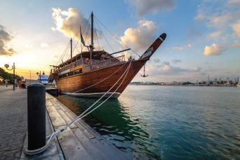 Dhow Cruise Creek Regular with Dinner from Dubai