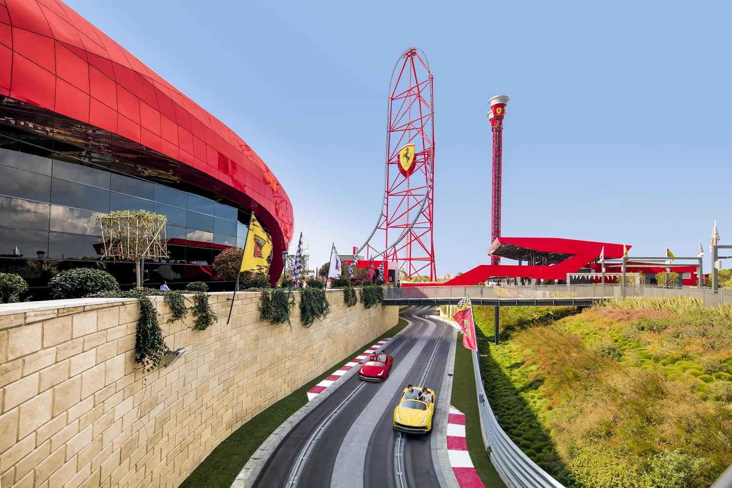 One Day Trip to PortAventura and Ferrari Land from Barcelona ...