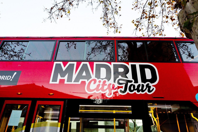 Madrid City Tour Hop On-Hop Off - Madrid on madrid paseo, madrid park, madrid night life,