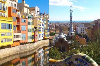 Girona & Artistic Barcelona