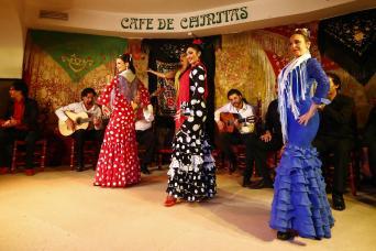 Flamenco Masterclass and Show at Café de Chinitas