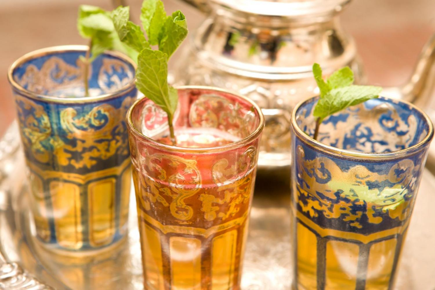 Mint tea, Tangier