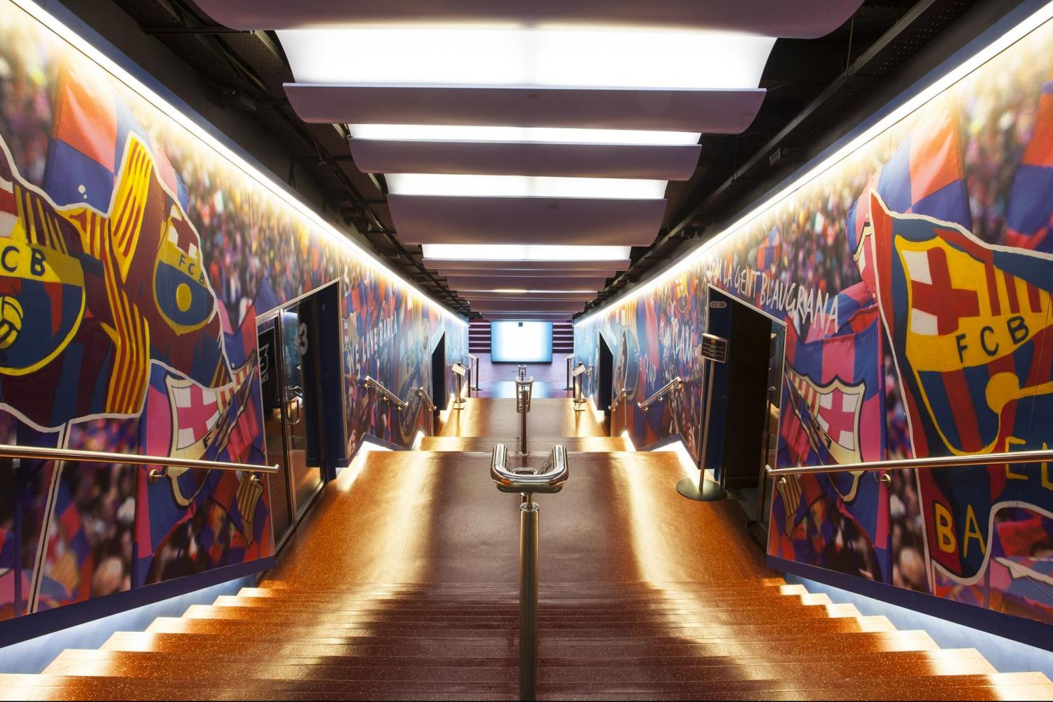 F C Barcelona Fans Camp Nou Experience Guided Visit