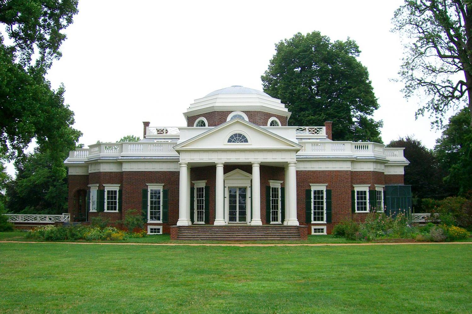 Wondrous Monticello And Thomas Jefferson Country Home Interior And Landscaping Synyenasavecom